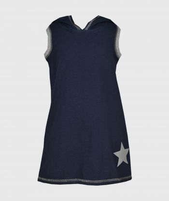 Everyday Cosy Dress Blue Marin