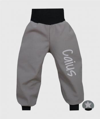 Waterproof Softshell Pants Grey