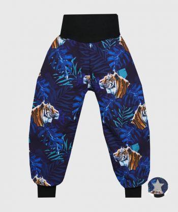 Waterproof Softshell Pants Tigers Blue