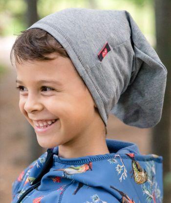 Oversize Baggy Hat Reflex Grey