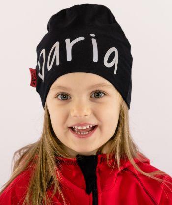 Baggy Hat Reflex Black