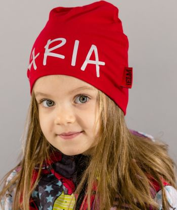Baggy Hat Reflex Red