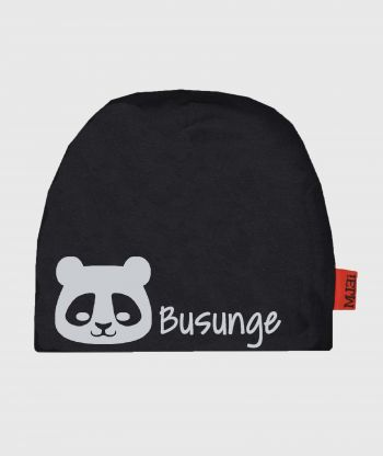 Baggy Hat Reflex Panda Black