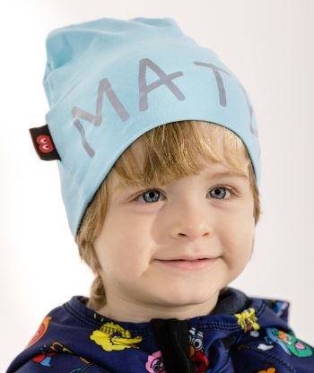Baggy Hat Reflex Bright Turquoise