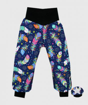Waterproof Softshell Pants Multicolor Feathers