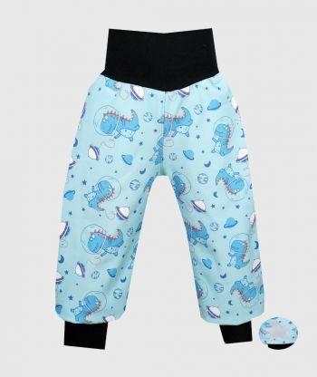 Waterproof Softshell Pants Space Dino
