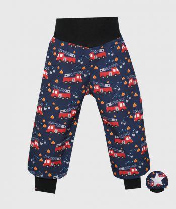 Waterproof Softshell Pants Firetrucks Dark Blue