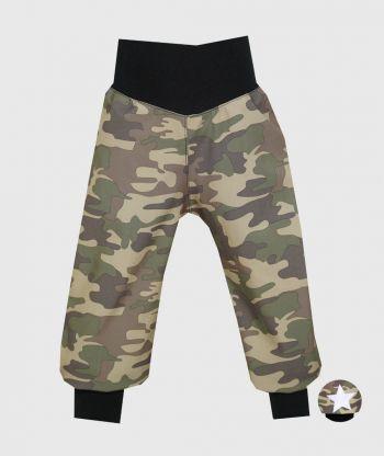 Waterproof Softshell Pants Military Camouflage