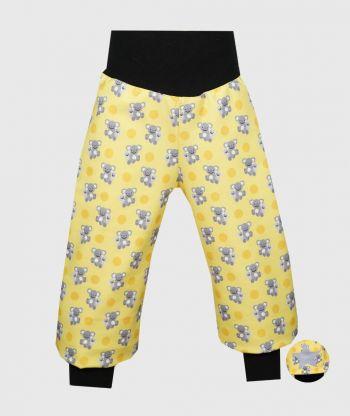 Waterproof Softshell Pants Koala Yellow
