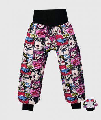 Waterproof Softshell Pants Lady Pink