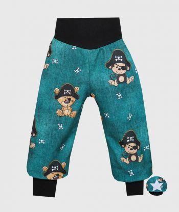Waterproof Softshell Pants Pirate Animals