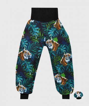 Waterproof Softshell Pants Tigers Green