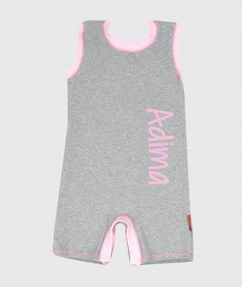 Summersuit Grey/Pink