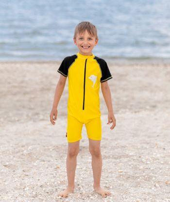 Swimsuit Yellow/Black